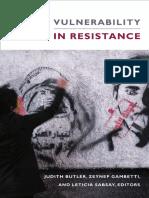 Butler, Gambetti y Sabsay - Vulnerability in Resistance.pdf