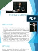 Psicologia en Serie