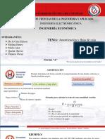 Amortizacion FLUJO CAJA 2