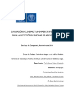 Informe Evaluacion Del Dispositivo Draeger Drugtest 17