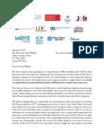 Letter to SOS Re Advisory