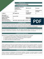 Fundamentos de Economía Syllabus 2014-2 PDF