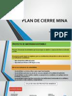 Plan de Cierre de Minas