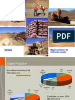 Chile, Productor de Cu