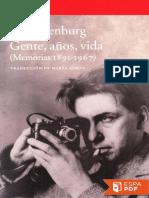 Gente, Anos, Vida - Ilya Ehrenburg