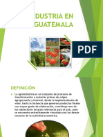 Agroindustria en Guatemala