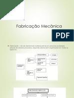 Fabricação Mecânica - Introdução