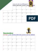 Calendarios Grandes