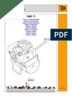 JCB VMS71 Mini Road Roller Service Repair Manual SN 1450000 to 1450499.pdf