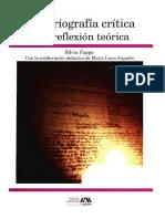 Historiografía crítica