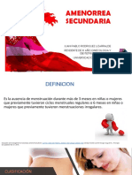 Amenorrea Secundaria Jprl