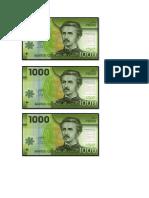 dinero para cálculo