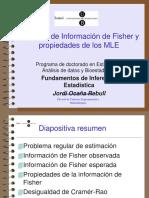 Informacio de Fisher i Propietats MLE
