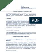 Modelo Demanda Laboral Pago de Beneficios Sociales 2
