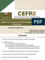 Finanzas Publicas Estatales y Municipales
