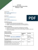 seminar 4 outline