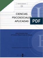 Ciencias psicosociales aplicadas