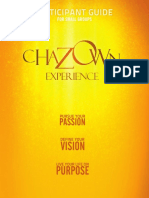 Chazown Small Group Experience Participant Guide