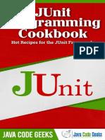 JUnit Programming Cookbook