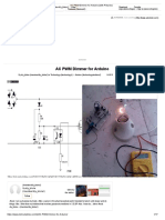 AC PWM Dimmer for Arduino (With Pictures)