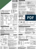 Manual Book Feiyu G4s 3 Axis Gimbal