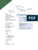 Cálculos química
