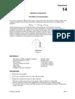 Saltwater Conductivity