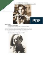 El Tercer Milirarismo (1930 - 1980)