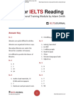 Ielts Journal - Tips for IELTS Reading Academic General Training Module Answer Key by Adam Smith.pdf