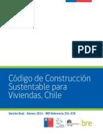 Código de Construcción Sustentable para viviendas, Chile