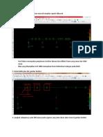 Perhitungan Tulangan SAP 2000