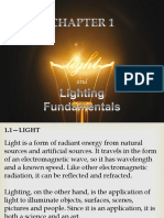 Light and Lighting Report