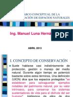 Marco Conceptual de La Conservación