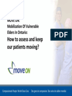 Move on Assessing Mobility Presentation 2012