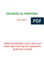 Technical Writing 2017