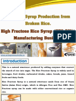 Fructose Syrup Production From Broken Rice