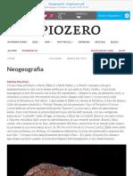 Neogeografia  Doppiozero