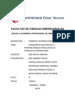 Informe Documentos de Exportacion e Importacion