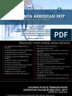Pentingnya Akreditasi Fktp, 17 Feb 2018