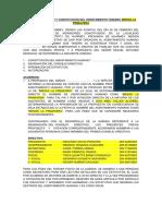 Acta Defundacion y Constitucion Del Aahh Huarmey