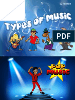 Types of Music FlashCards