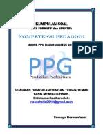 Rekap Soal Kompetensi Pedagogi.pdf