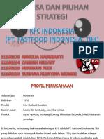 Analisa Dan Pilihan Strategi KCF INDONESIA