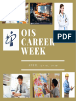 OIS Career Week - April 15-19, 2019