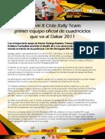 Presentación Can-Am X Chile Rally Team, despacho prensa 1