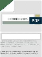 Hemorrhoids Schward