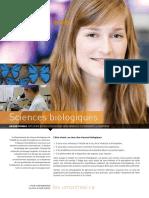 Sciences Biologiques