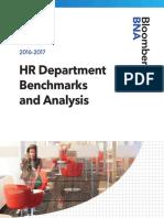 HR Benchmark 2016-2017