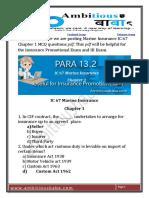 IC 67 Marine Insurance PDF