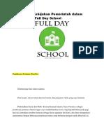 Mosi Debat Kebijakan Pemerintah Dalam Menerapkan Full Day School